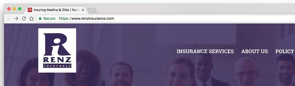 ssl encrypted insurance websites