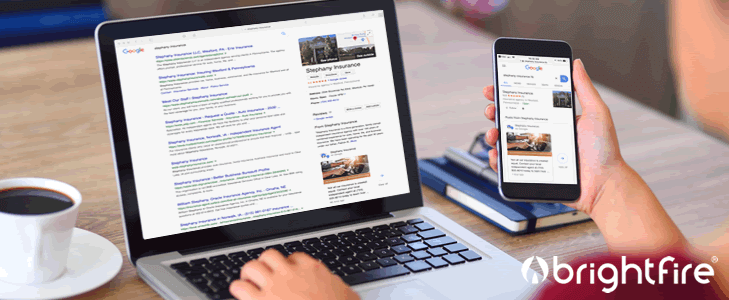 google my business for insurance agents
