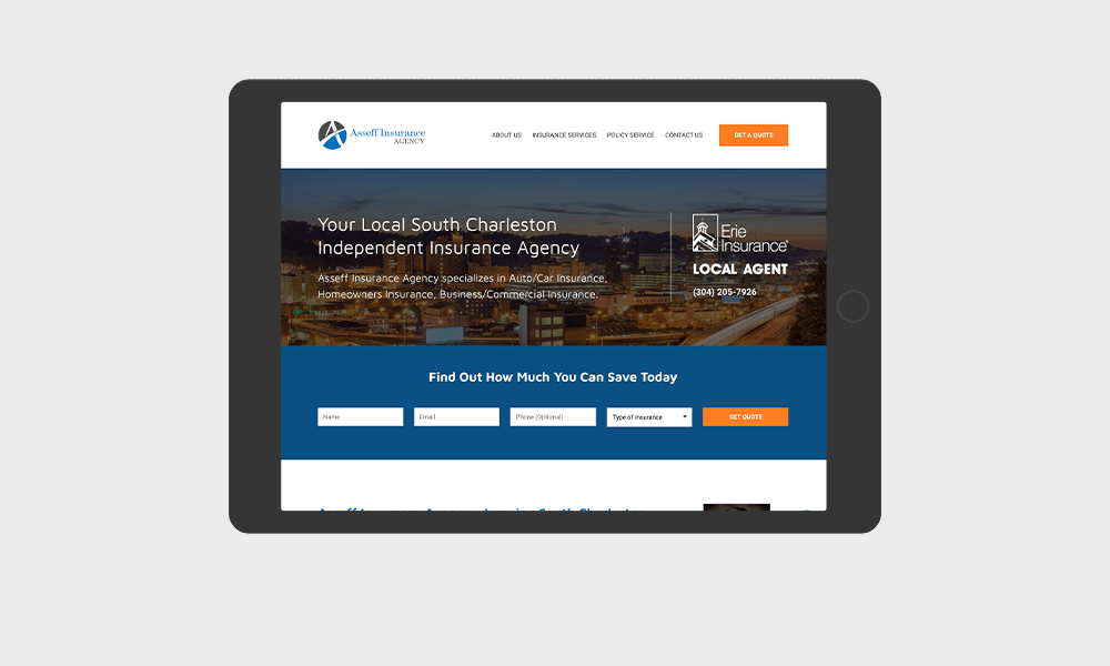 portfolio-asseffinsurance.com-tablet