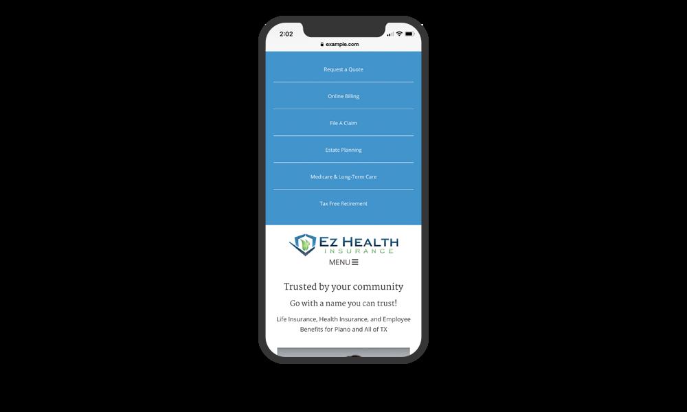 portfolio-ezhealthinsurance-phone