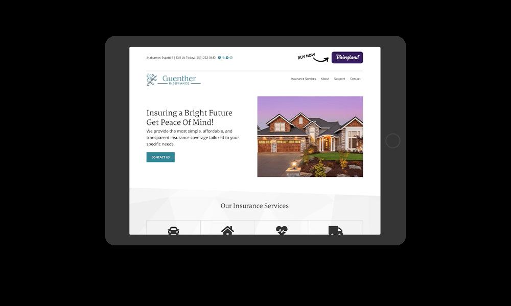 portfolio-guentherinsurance.com-tablet
