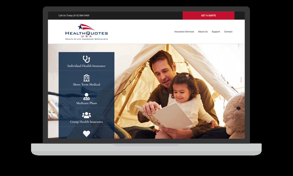 portfolio-healthquoteusa-laptop