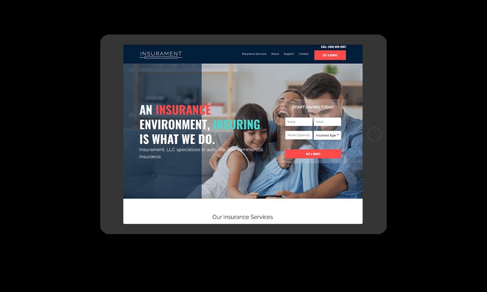 portfolio-insurament.com-tablet