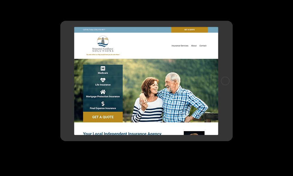portfolio-insuranceguidancesolutions.com-tablet