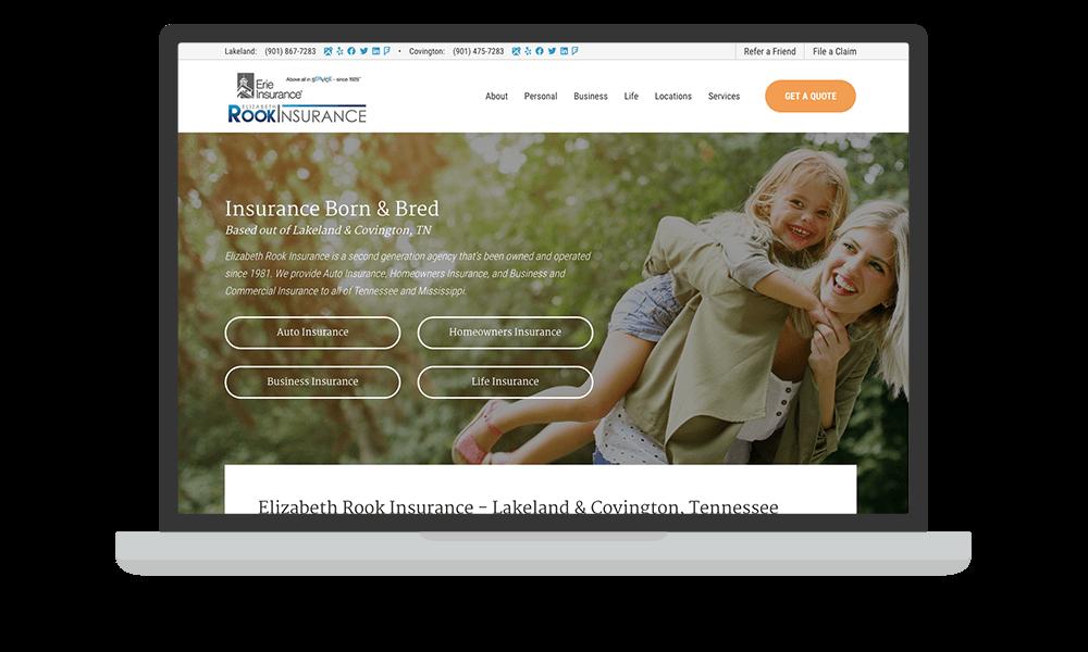 portfolio-rookinsurance.com-laptop