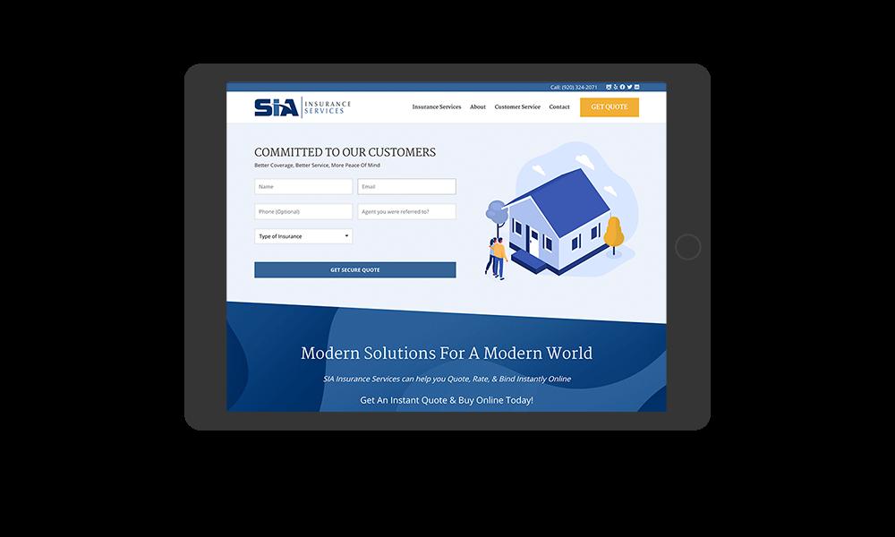 portfolio-siainsurance.com-tablet