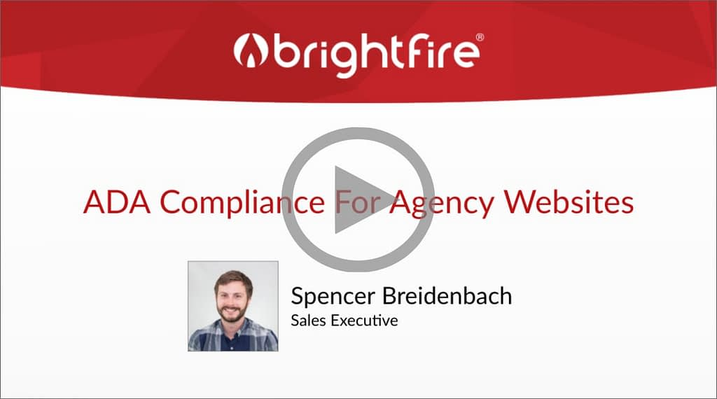 Insurance Website ADA Compliance