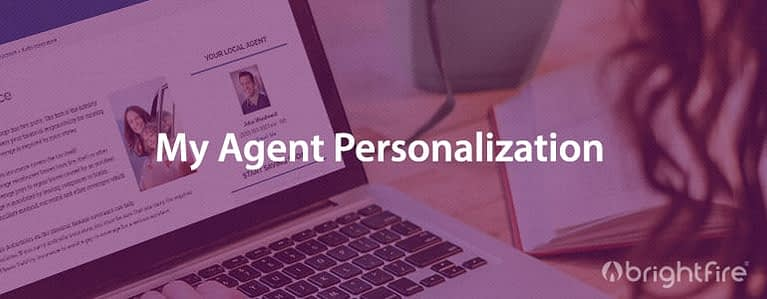 my agent personalization
